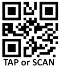 Tap or scan QR code to report a power outage