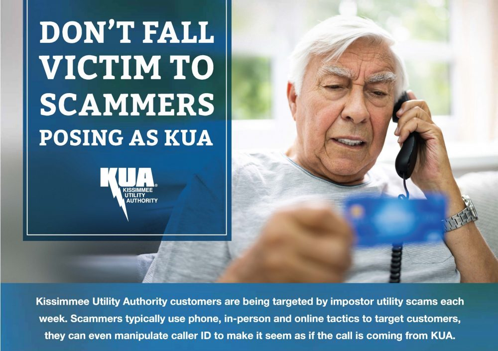 KUA Scam graphic
